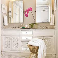 mirrored bathroom vanity cabinet mirrored bathroom vanity cottage bathroom southern living