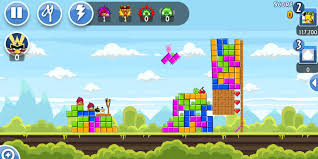 angry birds levels inspired by retro games tetris super mario