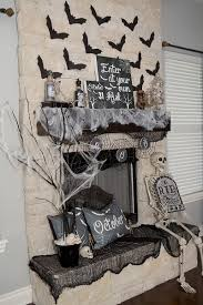 spooky halloween mantel decor lillian hope designs