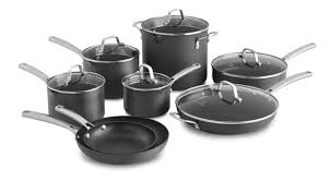calphalon classic 14 piece non stick cookware set u0026 reviews wayfair