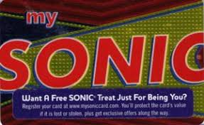 sonic gift cards gift card my sonic gold and sonic united states of