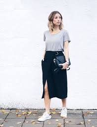 best 25 skirt and sneakers ideas on pinterest ootd dress with