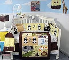 Giraffe Bedding Set Soho 123 Giraffe Baby Crib Nursery Bedding Set 13 Pcs
