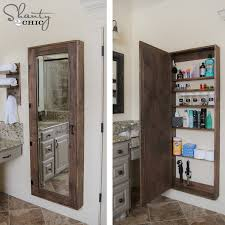 Bathroom Cabinet Storage Ideas Bathroom Endearing Diy Bathroom Storage Ideas Big Ideas For