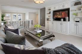 Media Unit Ideas Living Room Contemporary With Floating Cabinet - Family room cabinet ideas