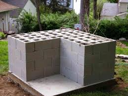 home decor amazing cinder block furniture backyard cinder