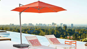 Large Rectangular Patio Umbrellas by Furniture Interesting Cantilever Umbrella For Patio Furniture