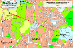 European Map Test by The European X Ray Laser Project Xfel