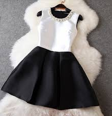 black and white dresses dress black and white dress chic graduation dress black and