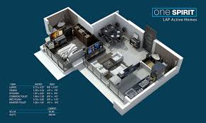 one spirit 1 bhk 2 bhk 3 bhk flats in mulund nirmal lifestyle