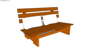 Simple Park Bench Plans Free by Best 25 Bench Swing Garden Design Simple Bird House Pattern