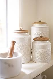 rustic kitchen canisters amazing targovci com
