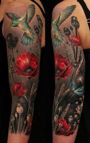 of stunning hummingbird tattoo and designs