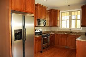 u shaped kitchen remodel ideas kitchen brown wooden floor u shape kitchen design refrigerator