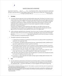 consulting agreement example consulting agreement templatezet