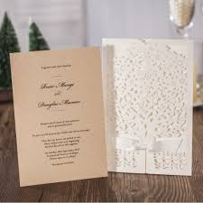 Wedding Invitation Greeting Cards Aliexpress Com Buy Wedding Invitations Cards 2017 Love Tree