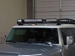 2005 2014 Toyota Fj Cruiser Roof Rack Mount Black Rigid Industries