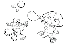 nick jr dora printable coloring pages dora princess coloring pages the explorer princess coloring pages