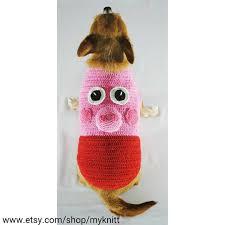 myknitt designer dog clothes u2014 peppa pig dog costumes 3d pet