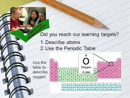 Learning The Periodic Table Atoms And The Periodic Table Ppt Video Online Download