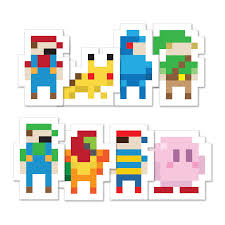 pixel car transparent pixel stickers fangamer