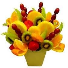 fruit flower arrangement s edible fruit flower arrangements 14 photos florists