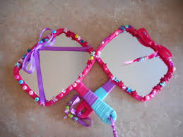 How To Decorate A Mirror Mirror Craft The Files Of Mrs E