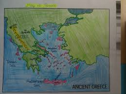 Blank Map Of Ancient Greece Little Piece Of Tape January 2013