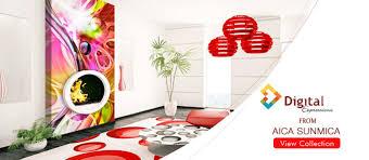 3d Sunmica Design Aica Welcome Home