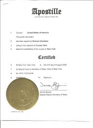 Corporate Power Of Attorney by New York Apostille And Ny Notary Services
