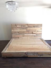 How To Make A Platform Bed Frame With Pallets by 16 Best Reclaimed Bedroom Images On Pinterest Bedroom Ideas