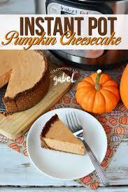 Gingersnap Pumpkin Cheesecake by Instant Pot Pumpkin Cheesecake Recipe