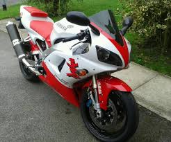 yamaha r1 1998 4xv red and white in york north yorkshire gumtree