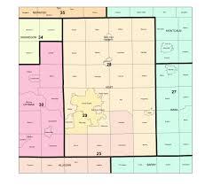 Allegan Michigan Map by Redistricting Windmillin U0027