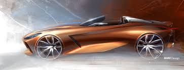 bmw concept 2017 bmw concept z4 new roadster style à pebble beach