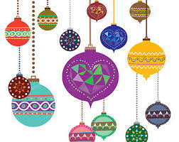 ornaments clipart printable pencil and in color