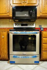 how to install over the range microwave without a cabinet how to hide a microwave building it into a vented cabinet for above