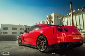 red nissan sports car mean red nissan gt r on bronze adv 1 u0027s gtspirit