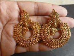 gold earrings design gold earrings design fashion beauty mehndi jewellery blouse design