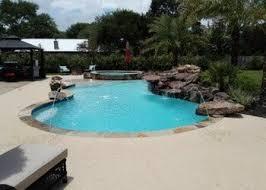 custom landscaping swimming pool builder cypress tx