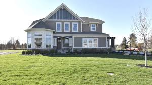 the bradford floorplan by fischer homes model home in galena oh