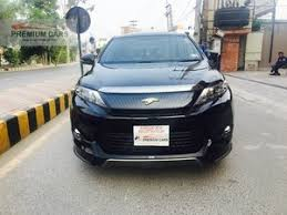 for sale in pakistan toyota harrier cars for sale in pakistan verified car ads