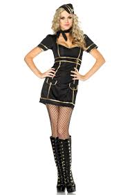 Halloween Flight Attendant Costume Flight Attendant Costume N2289