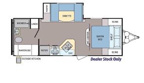 Dealer Floor Plan Coleman 225qb Floorplan Details