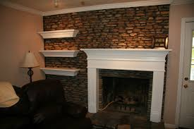 build a floating mantel shelf design photos of floating