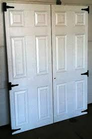 Exterior Shed Doors 2 27 X 72 6 Panel Fiberglass Shed Doors