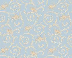 Schlafzimmer Tapete Blau Tapete Blau Gold Barock Concerto As Creation 95978 3