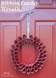 candy wreath december 7 ribbon candy wreath