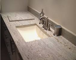 bathroom countertops with sink built in unique granite bathroom