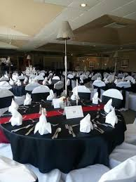 black and white chair covers farm tables tables rectangle tables me wedding rentals
